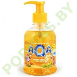 """Жидкое мыло для детей AQA baby """"Янтарная лагуна"""" 300мл (3+)"""