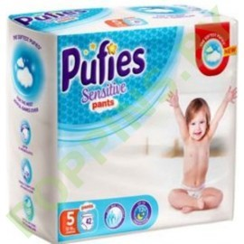 Трусики Pufies Sensitive 5 Junior (12-18кг) 42шт