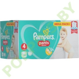 Трусики Pampers Pants 4 Maxi (9-15кг) 104шт