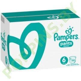 CУПЕР ЦЕНА Трусики Pampers Pants 6 Extra Large (15+ кг) 132шт