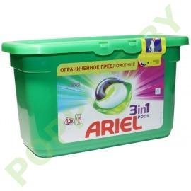 CУПЕР ЦЕНА Капсулы Ariel Color (Авт) 13шт