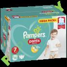 Трусики Pampers Pants 7 (17+кг) 80шт