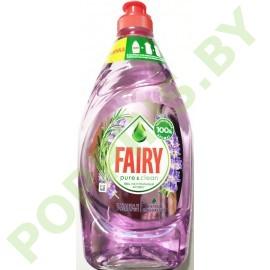 NEW Fairy Pure&Сlean Лаванда и розмарин 450мл