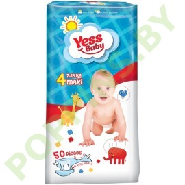 Подгузники Yess baby 4 Maxi (7-18кг) 50шт