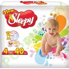 Подгузники Sleepy 4 Maxi (8-18кг) 40шт