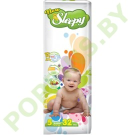 Подгузники Sleepy 5 Junior (12-25кг) 32шт