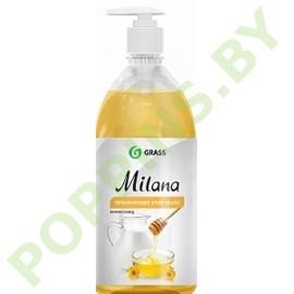 Крем-мыло Grass Milana Молоко и мед 1000мл