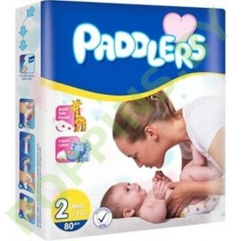 Подгузники Paddlers 2 Mini (3-6кг) 80шт
