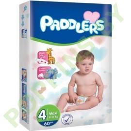 Подгузники Paddlers 4 Maxi (8-19кг) 60шт