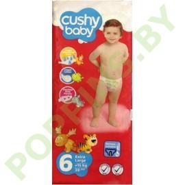 Подгузники Cushy baby 6 Extra Large (15+кг) 38шт