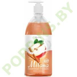 Крем-мыло Grass Milana Яблоко и корица 1000мл