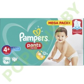 Трусики Pampers Pants 4+ (9-15кг) 99шт