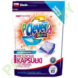 NEW Капсулы для стирки Clever Color 30шт