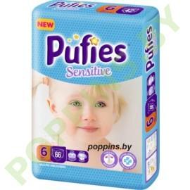 Подгузники  Pufies Sensitive 6 Extra Large (13+кг) 66шт