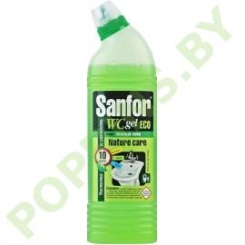 Sanfor WC Gel ECO Зеленый лайм (для биде и писсуаров) 750г