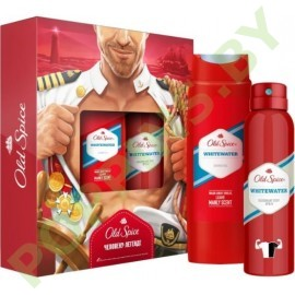Набор Old Spice Whitewater (гель д/душа +аэроз.дезодорант)