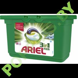 Капсулы для стирки Ariel 3в1 Горный родник 15шт