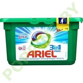 Капсулы Ariel С ароматом от Lenor 12шт