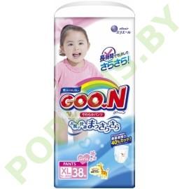Трусики Goon для девочек XL (12-20кг) 38шт