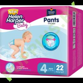 Трусики Helen Harper Baby 4 Maxi (8-13кг) 22шт