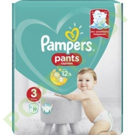 Трусики Pampers Pants 3 Midi (6-11 кг) 19шт
