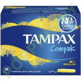 Тампоны Tampax Compak Regular (2*) 16шт