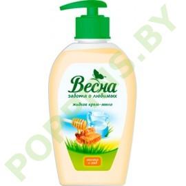 Крем-мыло жидкое «Весна» Молоко и мед 280г