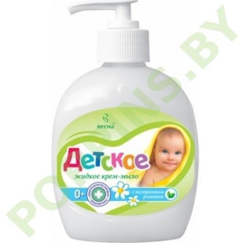 Крем-мыло жидкое «Детское» с экстрактом ромашки 280г