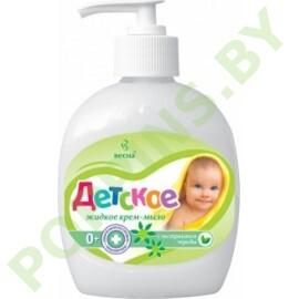 Крем-мыло жидкое «Детское» с экстрактом череды 280г