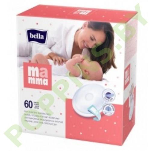 АКЦИЯ Прокладки для груди Bella Mamma 60шт