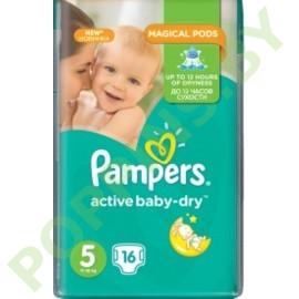 Подгузники Pampers Active Baby 5 Junior (11-16кг)  16шт