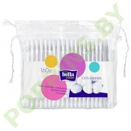 Ватные палочки Bella Cotton 160шт (п/э упаковка)