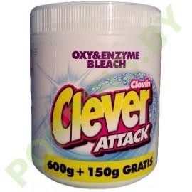 Кислородный отбеливатель Clever Attack 750г
