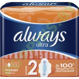 АКЦИЯ Прокладки Always Ultra Normal (4*) 10шт
