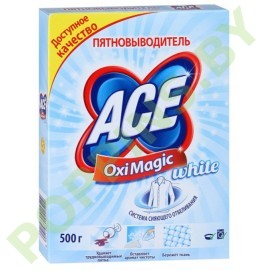 Пятновыводитель Ace Oximagic White 500г