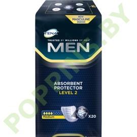 АКЦИЯ Вкладыши урологические Tena Men Medium (4*) 20 шт