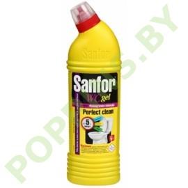 Чистящее средство Sanfor WC Gel Французская лаванда 750г