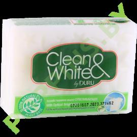 Мыло хозяйственое DURU Clean&White отбеливающее 125г