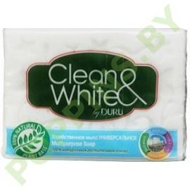 Мыло хозяйственое DURU Clean&White универсальное 125г