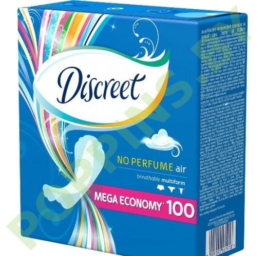 Прокладки ежедневные Discreet Multiform Air 100шт