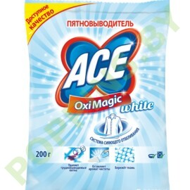 Пятновыводитель Ace Oximagic White 200г