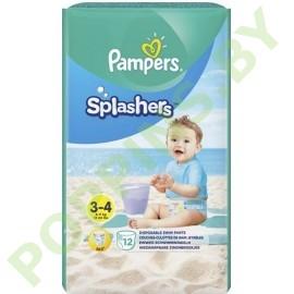 Трусики для плавания Pampers Splashers 3-4 (6-11кг) 12шт