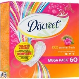 Прокладки ежедневные Discreet Deo Summer fresh 60шт