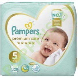 Подгузники Pampers  Premium Care 5 (11+кг) 28шт