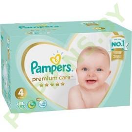 AKЦИЯ Подгузники Pampers Premium Care 4 (9-14кг) 82шт