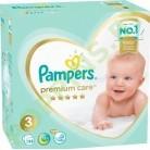 АКЦИЯ Подгузники Pampers  Premium Care 3 (6-10кг) 114шт