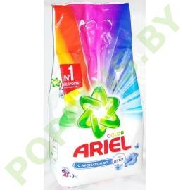 Стиральный порошок Ariel Color Touch of Lenor Fresh (Авт) 3кг
