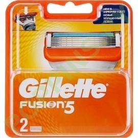 Кассеты сменные Gillette Fusion (2шт)