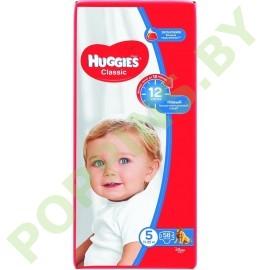 Подгузники Huggies Classic 5 (11-25кг) 58шт