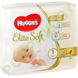 Подгузники Huggies Elite Soft 1 (до 5кг) 27шт